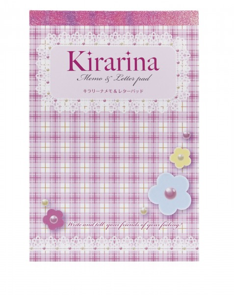 Kirarina Memo & Letterpad Princess