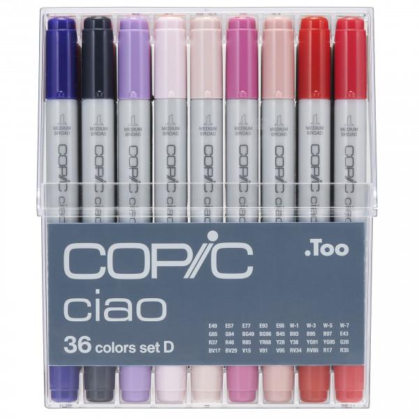 COPIC ciao Set D, 36 Stück