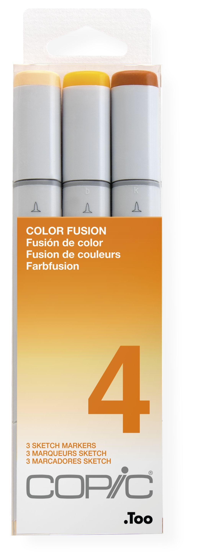 """COPIC Marker sketch 3er Set /""""Color Fusion 1/"""""""