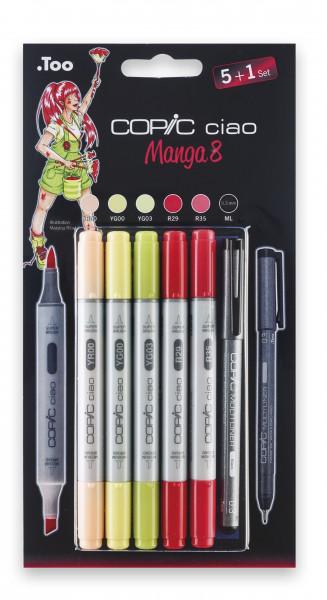"""Copoc Ciao """"5+1""""-Set Manga 8"""