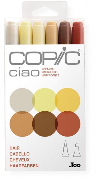 "COPIC ciao Set ""Hair"", 6 Stück"