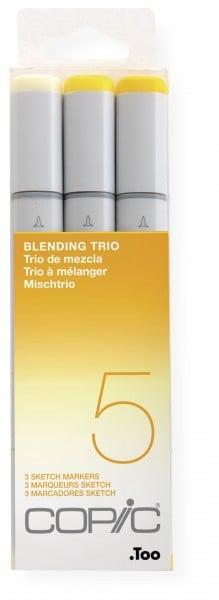 """COPIC Sketch Set """"Blending Trio 5"""", 3 Stück"""