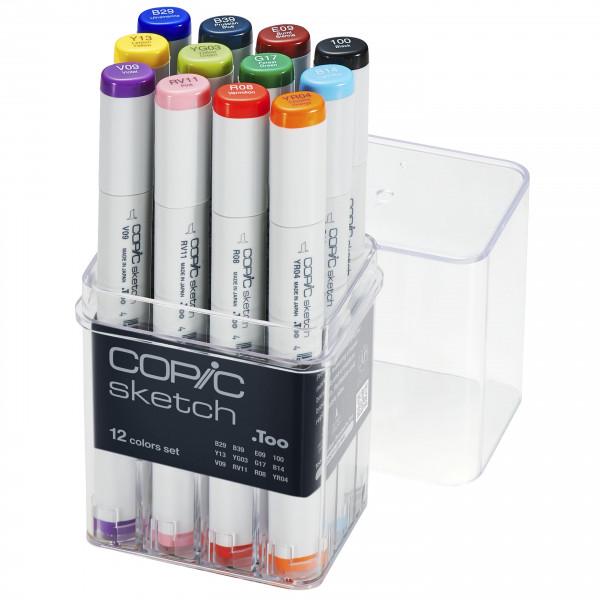 Copic Sketch 12 Colour Set