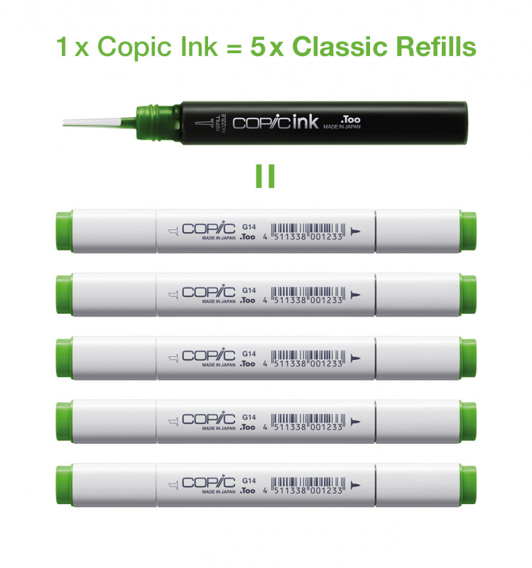 Copic Ink