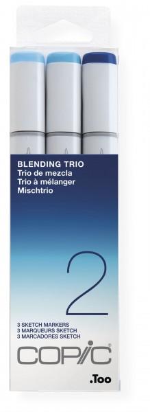"""COPIC Sketch Set """"Blending Trio 2"""", 3 Stück"""