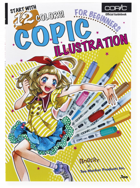 Copic Ciao 12er Set mit Buch Start with 12 colors Englisch