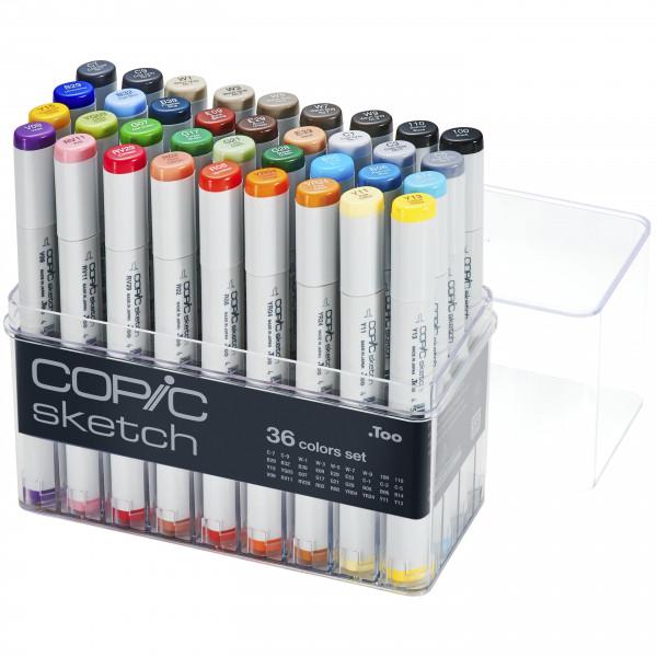 Copic Sketch 36 Colour set