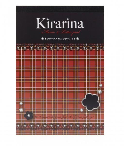 Kirarina Memo & Letterpad Bold